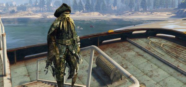 Davy Jones для GTA 5