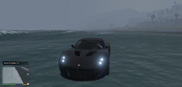 Drive On Water для GTA 5