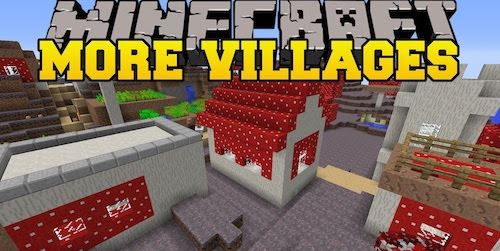 Mo' Villages by The_WeatherPony для Майнкрафт 1.11