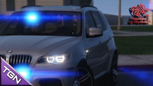BMW X5 M Kripo Bayern DG Edition для GTA 5