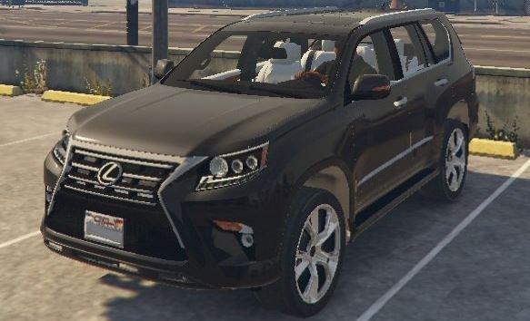 Lexus GX460 2014 для GTA 5