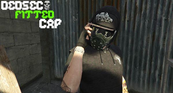 DedSec Hat for MP Male для GTA 5