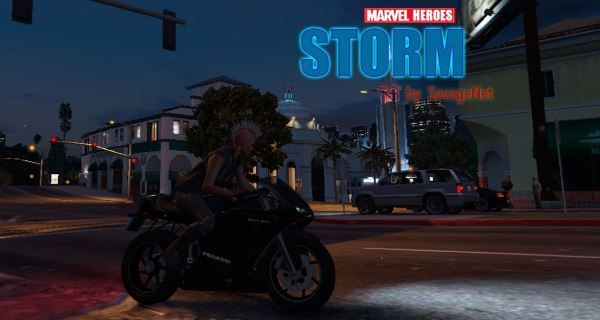Storm [Add-On Ped] для GTA 5