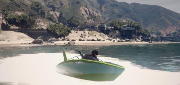 SpongeBob Boat для GTA 5