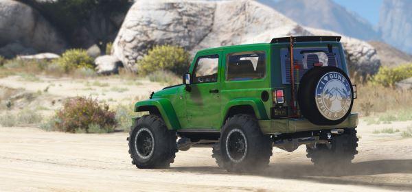 Jeep Wrangler Unlimited 3 Door JK 2013 [Add-On | Tuning] для GTA 5