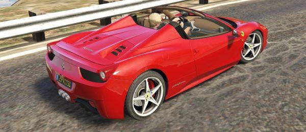 Ferrari 458 Spider 2013 [Add-On | Tuning | Livery] для GTA 5