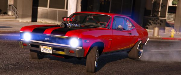 1969 Chevrolet Nova [Add-On | Tunable | HQ] 1.3 для GTA 5