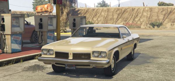 1973 Oldsmobile Delta 88 [Add-On / Replace ] 2.8 для GTA 5