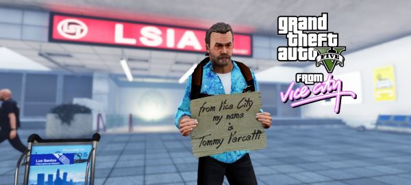 Tommy Vercetti 65 Years Old 2K16 [Add-on Ped] для GTA 5