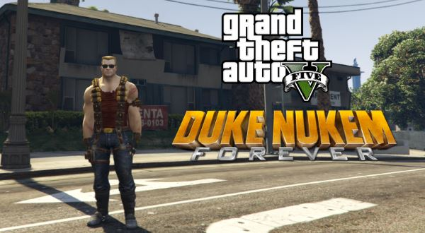 Duke Nukem [Add-On Ped] для GTA 5