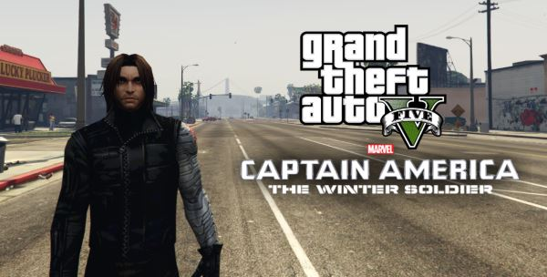 Winter Soldier [Add-On Ped] для GTA 5