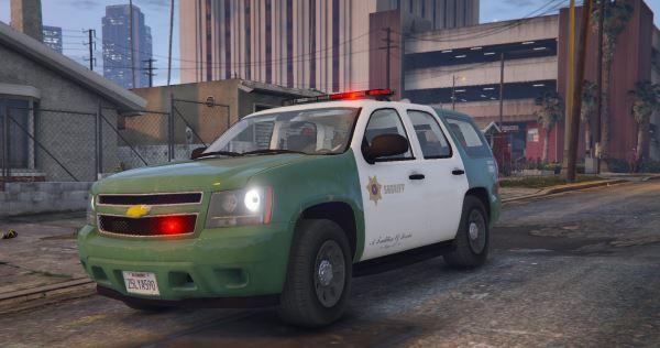 San Andreas Sheriff's Tahoe (2013 PPV) для GTA 5