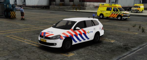 Volkswagen Golf Variant Dutch Police 1.1 для GTA 5