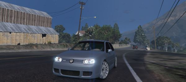 Volkswagen Golf MK4 R32 [Add-On] для GTA 5