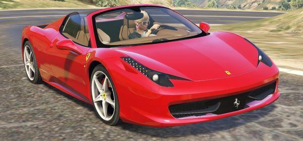 Ferrari 458 Spider 2013 [Add-On / Replace | Tuning | Livery] 1.3 для GTA 5