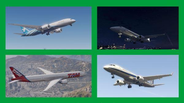 Aircrafts: Passenger & Cargo (Add-On) Pack для GTA 5