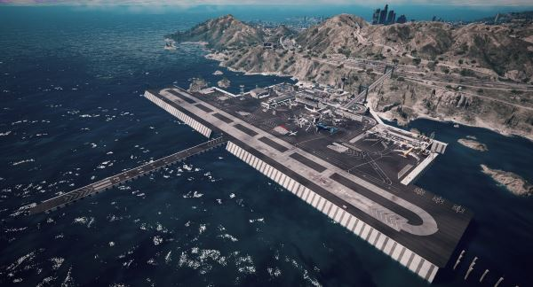 Tataviam International Airport [Menyoo / Map Editor] для GTA 5