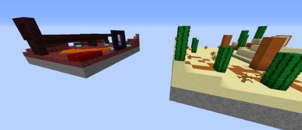 Spleef52 для Майнкрафт 1.11