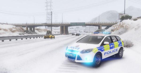 Surrey Police 2014 Ford Focus для GTA 5
