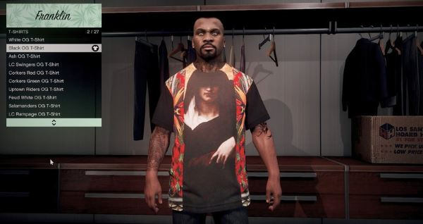 Givenchy T-Shirt Pack для GTA 5