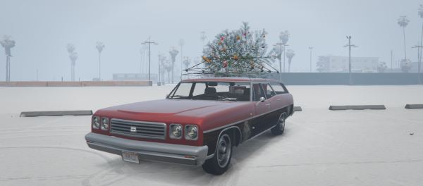 Regina Christmas Car [Add-On/Replace] для GTA 5