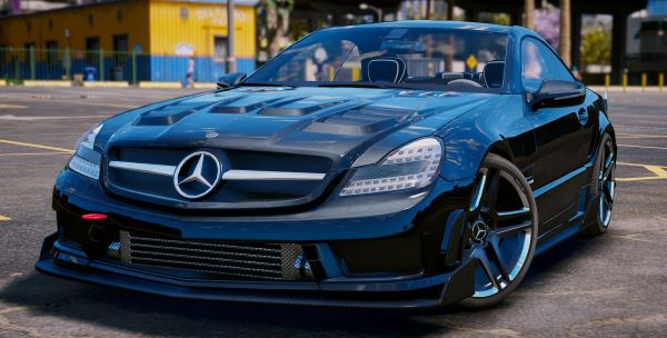 Mercedes-Benz SL 63 AMG [Add-On | Tuning] для GTA 5