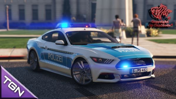 Ford Mustang Polizei Stuttgart для GTA 5