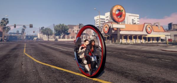 Monowheel [Add-On / Replace] 2.0 для GTA 5