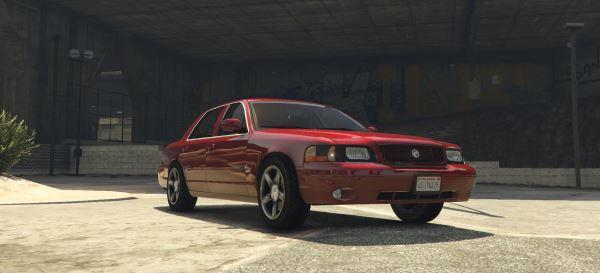 2003/4 Mercury Marauder для GTA 5