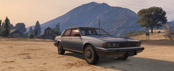 1986 Buick Century Limited [Add-On / Replace] 1.4 для GTA 5