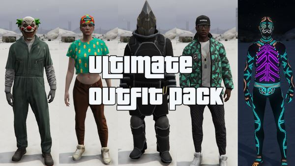 Ultimate Outfit Pack [Menyoo] 1.4 для GTA 5