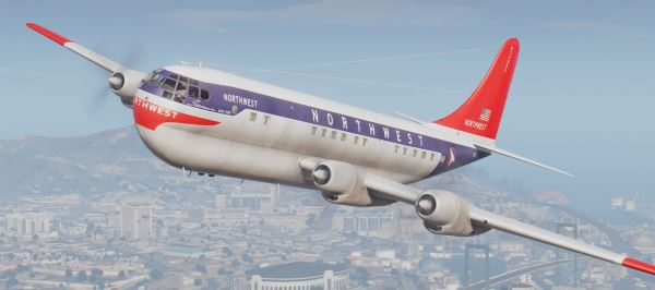 Boeing 377 Stratocruiser [Add-On] для GTA 5