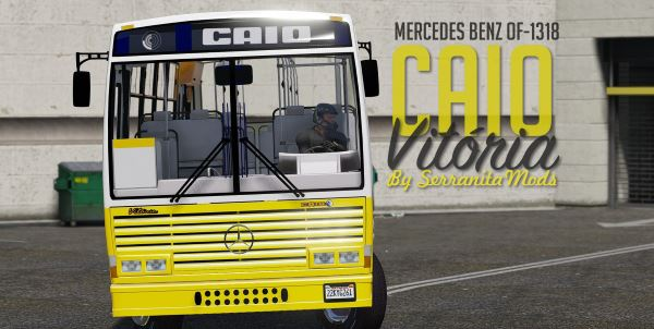 CAIO Vitoria MBB-1318 [Replace | Livery] 0.9 [BETA] для GTA 5