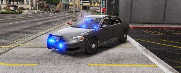 Unmarked Impala [ELS] 0.1 для GTA 5