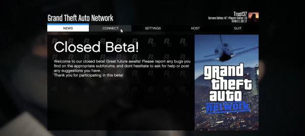 Network (автообновляемый) для GTA 5