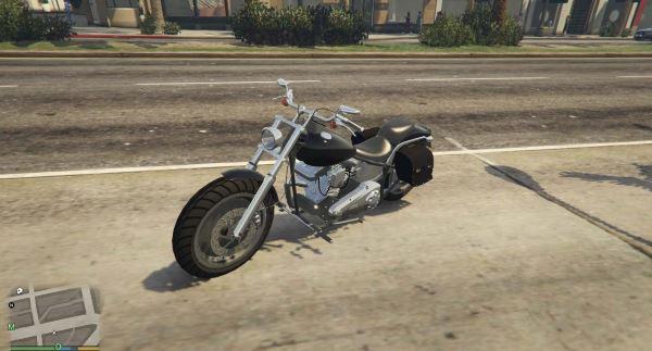 Harley-Davidson Softail для GTA 5