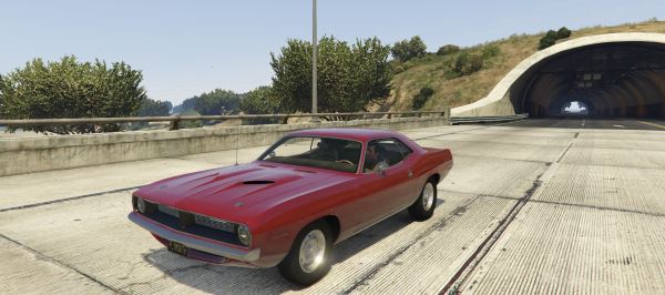 1970 Plymouth Barracuda 440 1.1 для GTA 5