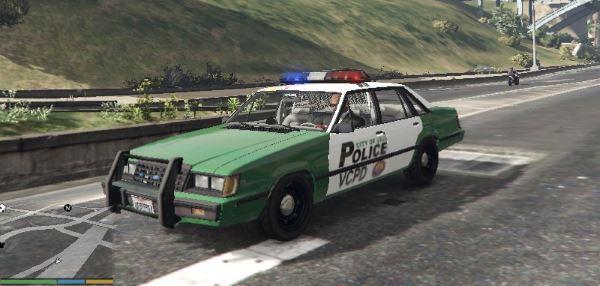 Vice City Police Car (FORD LTD LX) для GTA 5