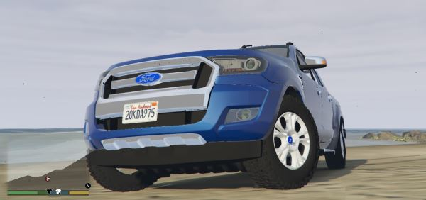 2017 Ford Ranger Limited для GTA 5
