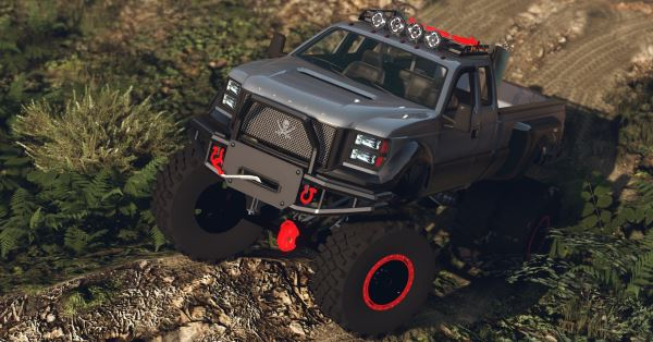 Sandking HD Monster Dually [Add-On / Replace] 1.4.4 для GTA 5