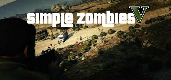 Simple Zombies [.NET] 0.9.5c для GTA 5