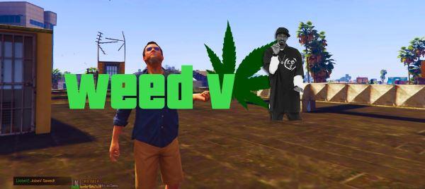 WeedV [Smoke Weed] 1.3 для GTA 5