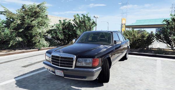 1990 Mercedes-Benz 560sel w126 [Add-On / Replace | Animated] для GTA 5