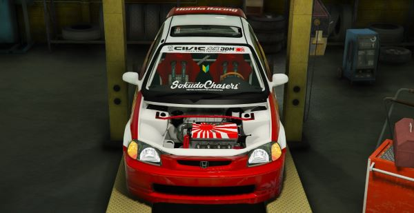 Honda Civic EK9 Kanjo Edition [Tuning | Template] 1.1 для GTA 5