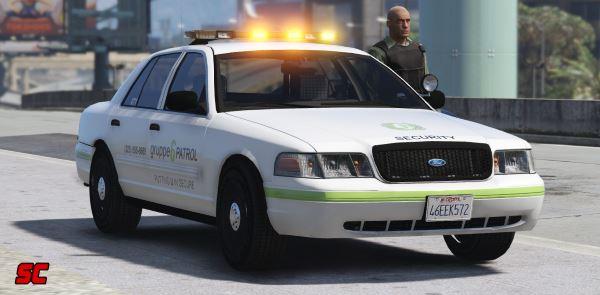 Ford Crown Victoria Gruppe 6 Security Patrol Car [ELS] для GTA 5