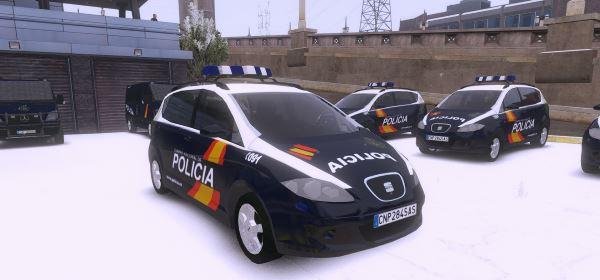 Seat Altea XL - Policía Nacional Z - CNP (Spanish Police) для GTA 5
