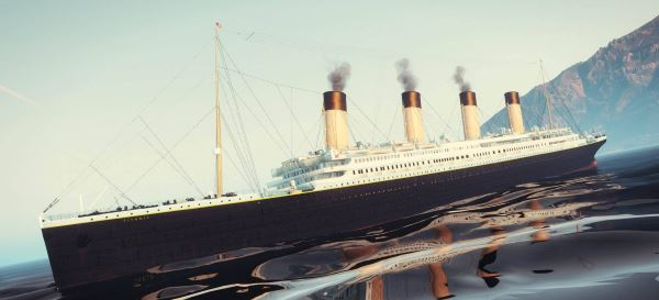 RMS Titanic [HQ | Add-On] 4.0 для GTA 5