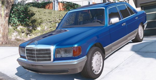 1990 Mercedes-Benz 560sel w126 [Add-On / Replace | Animated] 1.1a для GTA 5