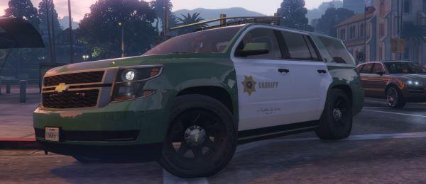 San Andreas Sheriff's Tahoe (2015 PPV) для GTA 5