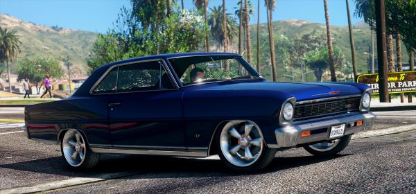 1966 Chevrolet II Nova SS [Replace | Tuning | HQ] 2.0 для GTA 5
